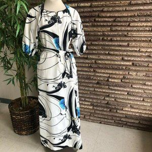 Tori Richard Vintage Hawaiian Hostess Gown Caftan